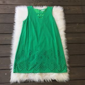 Crown & Ivy Green Seahorse Dress